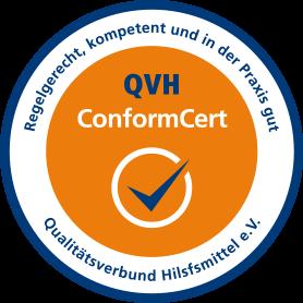 QVH ConformCert Fahne